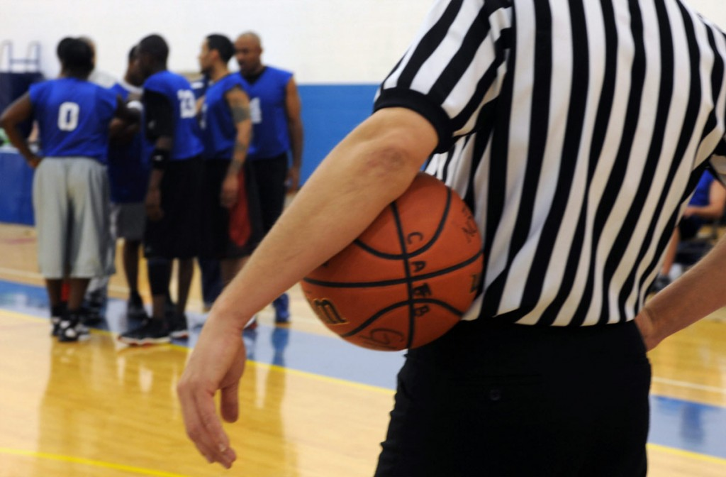 Referee and Umpire Software for Basketball