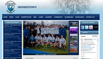 Hockey Club Website - Monkstown Hockey