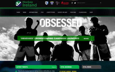 Ireland hockey website