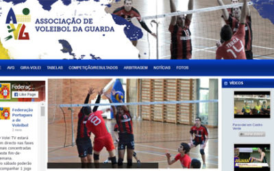 New Portuguese Volleyball Website